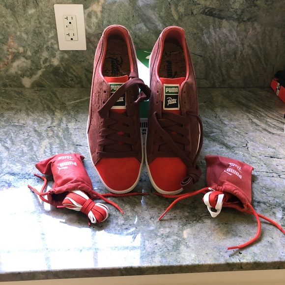 Puma Other - Men's Puma The Clyde sneakers size 9 1/2